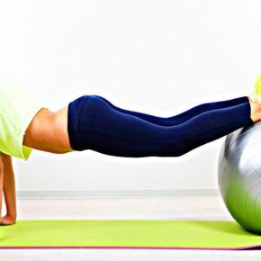 Фитнес упражнения с мячом и шаром – необычные, но эффективные методики